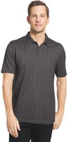 Van Heusen Men's Classic-Fit Windowpane Stretch Polo