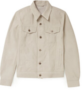Thumbnail for your product : Valstar Suede Trucker Jacket