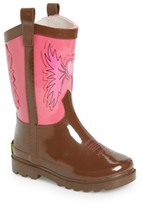 Western Chief Girl's Cowgirl Waterproof Rain Boot