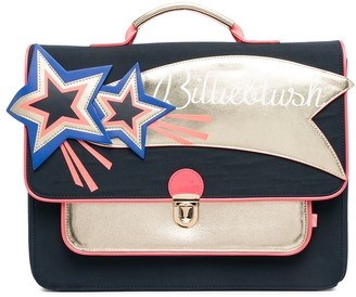 Billieblush Star Patch Panelled Backpack
