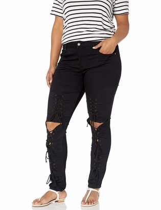 Cover Girl Women's Camo Print Skinny Jeans Joggers Cargo