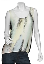 Watercolor Silk Tank