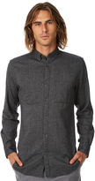 Zanerobe Flannel 7ft Ls Mens Shirt Grey