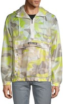 Members Only Sport Camo-Print Hooded Jacket