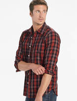 Lucky Brand Saturday Stretch Poplin One Pocket Shirt