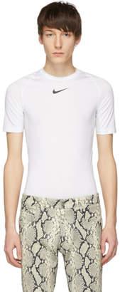 Alyx White Nike Edition Logo Sponge T-Shirt