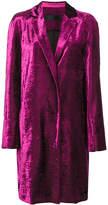 Haider Ackermann velvet coat