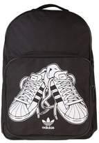 adidas New Mens Black Sneaker Polyester Backpack Backpacks