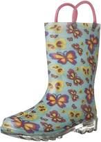Western Chief Flutter Fierce Lighted Waterproof Rain Boot