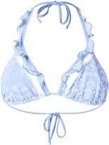 Ermanno Scervino broderie anglaise bikini top