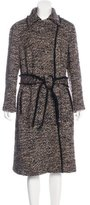 Akris Wool-Blend Tweed Coat