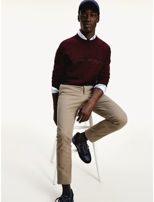 Tommy Hilfiger Slim Fit Organic Cotton Chino