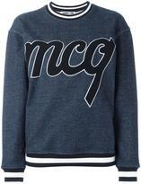 McQ towelling logo sweatshirt
