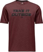 The North Face Men's Reaxion FlashDryTM Graphic-Print Logo T-Shirt