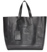 Ralph Lauren Perforated Calfskin Tote