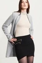 Dynamite Asymmetric Mini Skirt