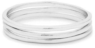 Gorjana Thin Stack Rings, Set of 3, Size 6-8