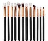Makeup Brush Sets,Vovotrade 12Pcs Cosmetic Brush Makeup Brush Sets Kits Tools (B)