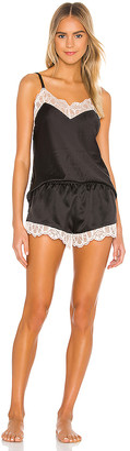 Flora Nikrooz Gabby Charmeuse Cami Set With Lace
