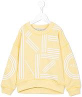 Kenzo printed sweatshirt - kids - Cotton - 6 yrs
