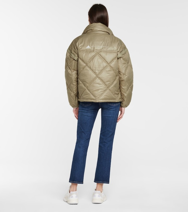 Thumbnail for your product : adidas by Stella McCartney Quilted jacket