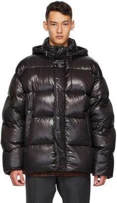 Dries Van Noten Black Insulated Jacket