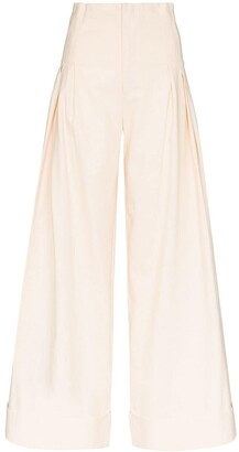 ST. AGNI Wide Leg Trousers