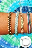 Pura Vida Braided Bracelet in Seafoam