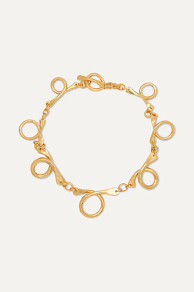 Tohum - Dunya Gold-plated Necklace - one size