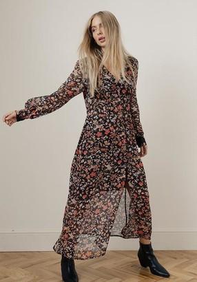 Lily & Lionel Wren Dress Black Jasmine - small