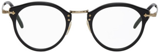 Oliver Peoples Black and Gold OP-505 Glasses