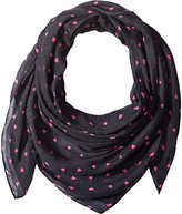 Life is Good Little Hearts Market Scarf
