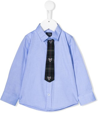 Lapin House formal shirt and tie
