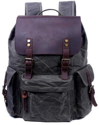 Tsd Brand Stone Creek Waxed Canvas Backpack