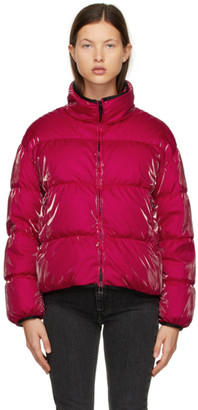 Moncler Red Down Grenit Jacket