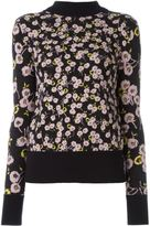 Marni floral knitted top