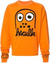 Haculla logo print sweatshirt