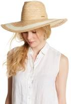 Vince Camuto Eyelet Woven Panama Hat