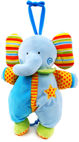 Blue Star Shine Elephant Pull-String Toy