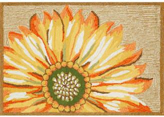 Liora Manné Frontporch Sunflower Hand Tufted Rectangular Indoor/Outdoor Rugs