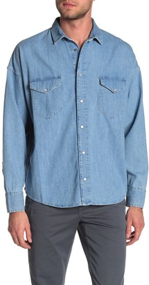 Levi's Levis Made And Crafted Western Long Sleeve Regular Fit Shirt
