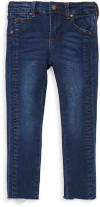 Joe's Jeans Little Girl's Charlie Raw-Cut Skinny Jeans