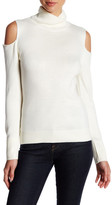 T Tahari Flynn Cold Shoulder Sweater