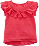 Carter's Short Sleeve Crew Neck T-Shirt-Toddler Girls