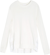 Clu Pleated Back Sweater