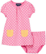 Toobydoo Daisy Pocket Dress (Baby & Toddler Girls)