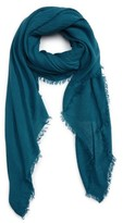 David & Young Women's Pleated Fringe Scarf