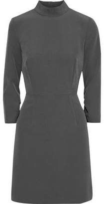 Milly Kendall Cutout Ruched Cady Mini Dress