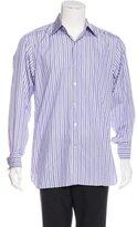 Tom Ford Striped French Cuff Shirt