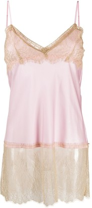 Twin-Set Lace-Trim Camisole